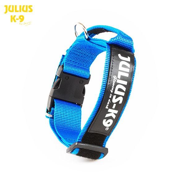 K9 Nylonhalsband blau